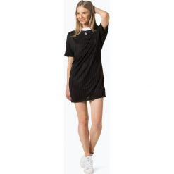 Adidas Originals - Sukienka damska, czarny. Czarne sukienki sportowe marki adidas Originals, l, w paski, z materiału, z kontrastowym kołnierzykiem, sportowe. Za 179,95 zł.