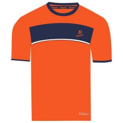 Koszulki sportowe męskie: Huari Koszulka męska Qwest T-shirt Red Orange/medieval Blue r. L