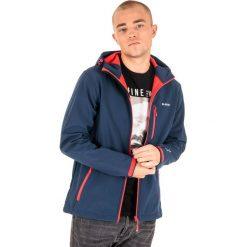 Odzież sportowa męska: Hi-tec Kurtka męska CAEN Navy/ Orange Red r. XXXL
