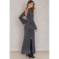 Długie sukienki: Keepsake Sukienka Maxi Reflections Knit - Black,Multicolor,Silver