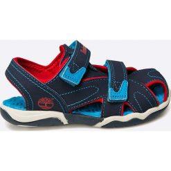 Timberland - Sandały dziecięce. Szare sandały chłopięce marki Timberland, z gumy. W wyprzedaży za 129,90 zł.