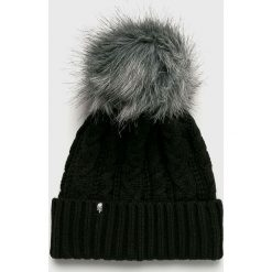 The North Face - Czapka. Czarne czapki zimowe damskie The North Face, na zimę, z dzianiny. Za 199,90 zł.