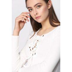 Bluzki, topy, tuniki: Biała Bluzka Numeral