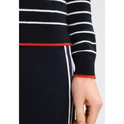 Swetry klasyczne damskie: Whistles KISS EMBROIDERED STRIPE Sweter multicolour