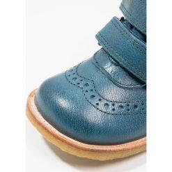 Bisgaard Botki petrolio. Zielone buty zimowe damskie Bisgaard, z materiału. W wyprzedaży za 351,20 zł.