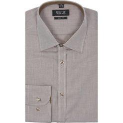 Koszula bexley 2299 długi rękaw slim fit brąz. Szare koszule męskie jeansowe marki Recman, na lato, m, z klasycznym kołnierzykiem, z długim rękawem. Za 69,99 zł.