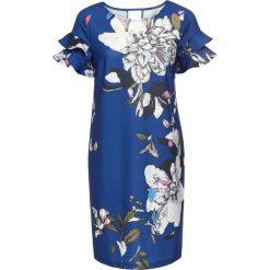 Sukienka w kwiaty bonprix niebieski w kwiaty. Niebieskie sukienki marki bonprix, w kwiaty. Za 129,99 zł.