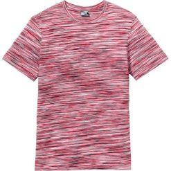 T-shirty męskie: T-shirt Regular Fit bonprix czerwony melanż