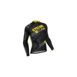 Bejsbolówki męskie: Bluza rowerowa męska FDX Pro Cycling Long Sleeve Thermal Jersey XL