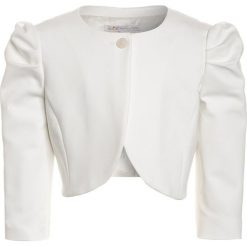 Patrizia Pepe Żakiet milk white. Białe kurtki dziewczęce marki Patrizia Pepe, z bawełny. W wyprzedaży za 383,40 zł.