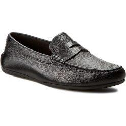 Mokasyny CLARKS - Reazor Drive 261232447 Black Leather. Czarne mokasyny męskie Clarks, z materiału. W wyprzedaży za 229,00 zł.