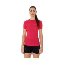 Bluzki asymetryczne: Brubeck Koszulka damska  3D Run Pro  malinowa r. M (SS12030)