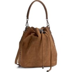 Torebka CREOLE - K10343  Jasny Brązowy. Brązowe torebki worki Creole, ze skóry. W wyprzedaży za 209,00 zł.