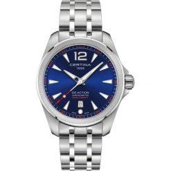 PROMOCJA ZEGAREK CERTINA DS Action C032.851.11.047.00. Szare zegarki męskie CERTINA, ze stali. W wyprzedaży za 1663,21 zł.