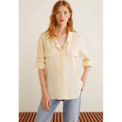 Mango - Koszula Oil. Szare koszule damskie marki Mango, l, z materiału, z długim rękawem. Za 139,90 zł.