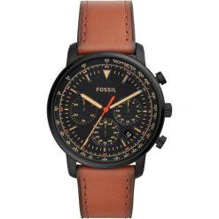 Fossil - Zegarek FS5501. Różowe zegarki męskie marki Fossil, szklane. Za 699,90 zł.