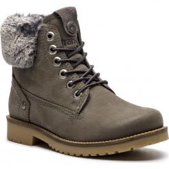 Trapery WRANGLER - Creek Alaska WL182502 Grey 55. Szare buty zimowe damskie Wrangler, z materiału. W wyprzedaży za 339,00 zł.