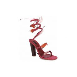Sandały Marc Jacobs  MJ16385. Czerwone rzymianki damskie Marc Jacobs. Za 2111,20 zł.