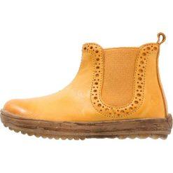 Naturino STORM Botki mais. Żółte buty zimowe damskie Naturino, z materiału. W wyprzedaży za 319,20 zł.