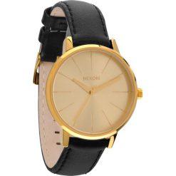 Zegarki damskie: Zegarek damski Gold Nixon Kensington Leather A1081501