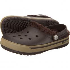 Buty dziecięce Crocband 2.5 Winter Clog espresso/khaki r. 24-26. Brązowe buciki niemowlęce marki Crocs. Za 99,64 zł.
