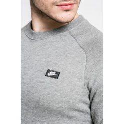 Nike Sportswear - Bluza. Szare bejsbolówki męskie Nike Sportswear, l, z aplikacjami, z bawełny, bez kaptura. W wyprzedaży za 179,90 zł.