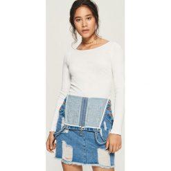 Bluzki damskie: Bluzka Basic - Biały