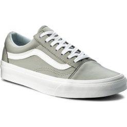 Tenisówki VANS - Old Skool VA38G1QD5 (Leather) Oxford/Drizzle. Szare tenisówki męskie Vans, z gumy. W wyprzedaży za 259,00 zł.