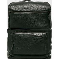 Strellson - Plecak. Czarne plecaki męskie Strellson, ze skóry ekologicznej. W wyprzedaży za 869,90 zł.