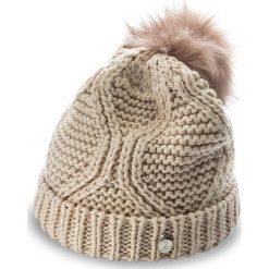 Czapka GUESS - Not Coordinated Wool AW6801 WOL01 M NUD. Brązowe czapki zimowe damskie marki Guess, z aplikacjami, z materiału. W wyprzedaży za 139,00 zł.
