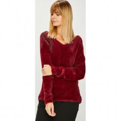 Morgan - Sweter. Brązowe swetry klasyczne damskie Morgan, l, z dzianiny. Za 239,90 zł.