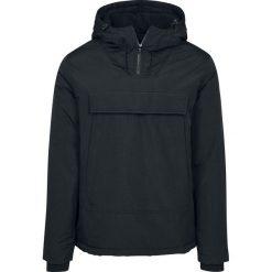 Urban Classics High Neck Pull Over Jacket Kurtka czarny. Niebieskie kurtki męskie marki Urban Classics, l, z okrągłym kołnierzem. Za 199,90 zł.