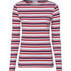 Marie Lund - Damska koszulka z długim rękawem, czerwony. Czerwone bluzki sportowe damskie Marie Lund, xl, w paski, z długim rękawem. Za 99,95 zł.
