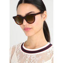 Marc Jacobs Okulary przeciwsłoneczne mottled dark brown. Brązowe okulary przeciwsłoneczne damskie aviatory Marc Jacobs. Za 1049,00 zł.