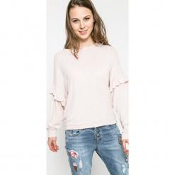 Fresh Made - Sweter. Szare swetry oversize damskie Fresh Made, l, z dzianiny, z okrągłym kołnierzem. W wyprzedaży za 59,90 zł.