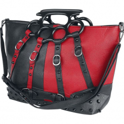 Poizen Industries Harley Bag Torebka - Handbag czarny/czerwony. Czarne torebki klasyczne damskie Poizen Industries. Za 164,90 zł.