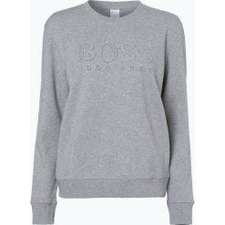 Bluzy rozpinane damskie: BOSS Casual - Damska bluza nierozpinana – Taloboss, szary