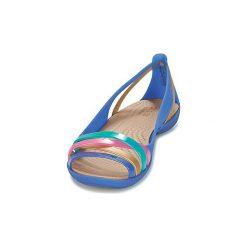 Rzymianki damskie: Sandały Crocs  ISABELLA HUARACHE 2 FLAT W