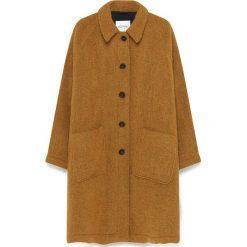 Płaszcze damskie: Płaszcz w kolorze musztardowym