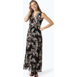More & More - Sukienka damska, czarny. Czarne długie sukienki marki More & More, w kwiaty, z szyfonu. Za 279,95 zł.