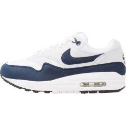 Trampki damskie slip on: Nike Sportswear AIR MAX 1 Tenisówki i Trampki white/obsidian/pure platinum