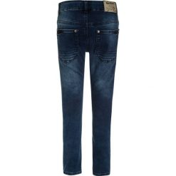 Jeansy męskie regular: Blue Effect BIKER Jeans Skinny Fit blue denim
