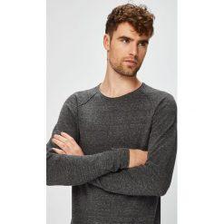 Jack & Jones - Sweter. Czarne swetry klasyczne męskie Jack & Jones, l, z bawełny, z okrągłym kołnierzem. W wyprzedaży za 99,90 zł.