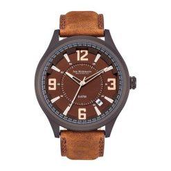 """Zegarki męskie: Zegarek """"10030056"""" w kolorze brązowo-czarnym"""
