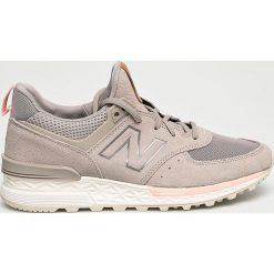 New Balance - Buty WS574PMC. Brązowe buty do fitnessu damskie New Balance, z materiału. W wyprzedaży za 399,90 zł.