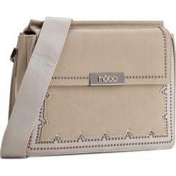 Torebka NOBO - NBAG-D1210-C015 Beżowy. Brązowe torebki klasyczne damskie marki Nobo, ze skóry ekologicznej. W wyprzedaży za 129,00 zł.