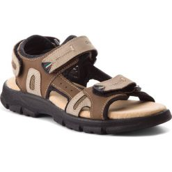 Sandały męskie: Sandały GRISPORT – 81551N1 Buff Taupe/Light Brown