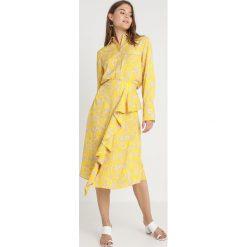 Koszule wiązane damskie: NORR ANASTACIA Koszula yellow