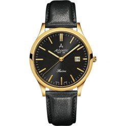 Zegarek Atlantic Męski Sealine 62341.45.61 Szafirowe szkło czarny. Czarne zegarki męskie Atlantic, szklane. Za 816,99 zł.