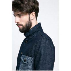 Pepe Jeans - Kurtka Coaster. Czarne kurtki męskie jeansowe Pepe Jeans, l. W wyprzedaży za 479,90 zł.